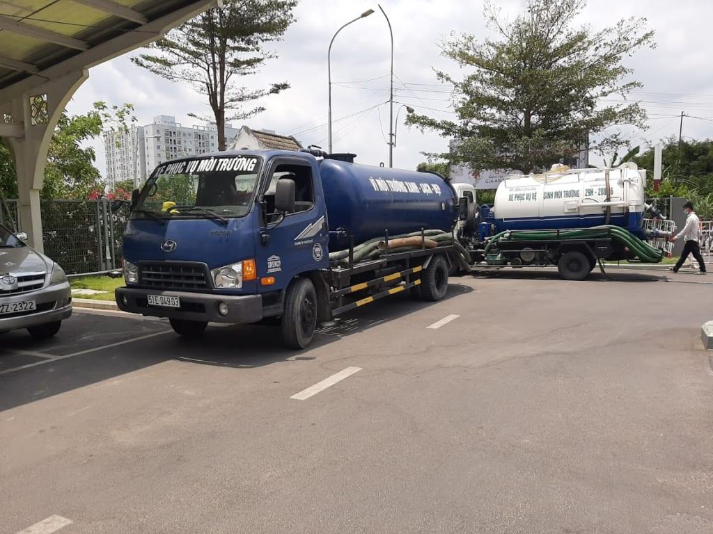 Dịch vụ hút hầm cầu Tại Sài Gòn uy tín chuyên nghiệp