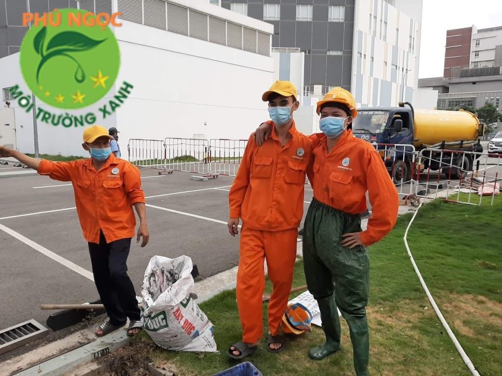 Đội thợ Hút Hầm Cầu Đà Nẵng