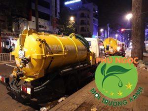 Đoàn xe Hút hầm cầu Sài Gòn vừa được Phú Ngọc trang bị