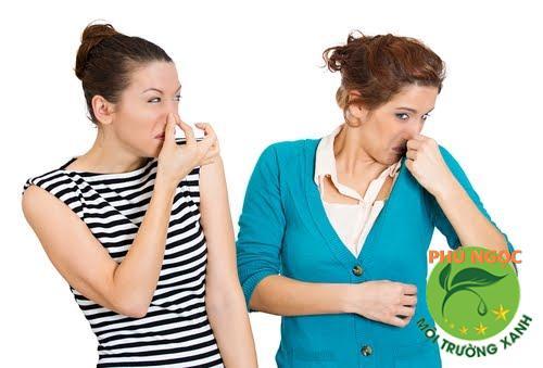 Có nhiều nguyên nhân gây nên tình trạng mùi hôi này