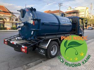 Xe hút hầm cầu Tân Bình chuyên nghiệp