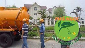 Vì sao nên chọn dịch vụ hút hầm cầu huyện Chợ Lách tại công ty Phú Ngọc?