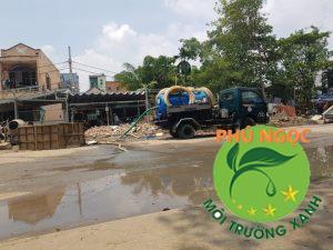 Dịch vụ hút hầm cầu quận Tân Phú uy tín