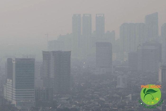 Ô nhiễm môi trường đang gia tăng tại thành phố Hồ Chí Minh