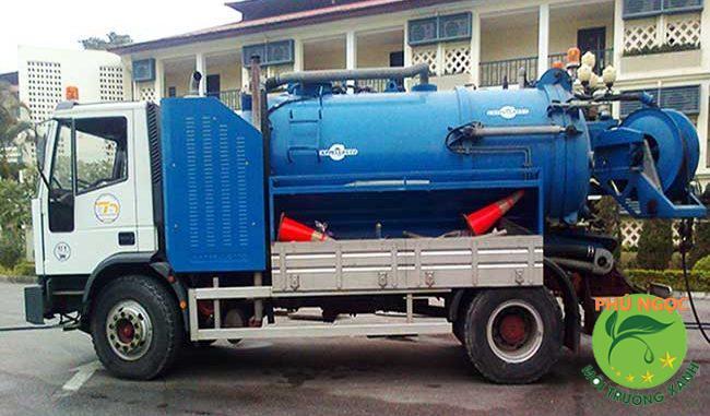 Đơn vị cung cấp dịch vụ hút hầm cầu không đục phá uy tín, chất lượng