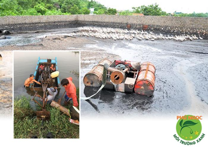 mua bán máy hút bể biogas