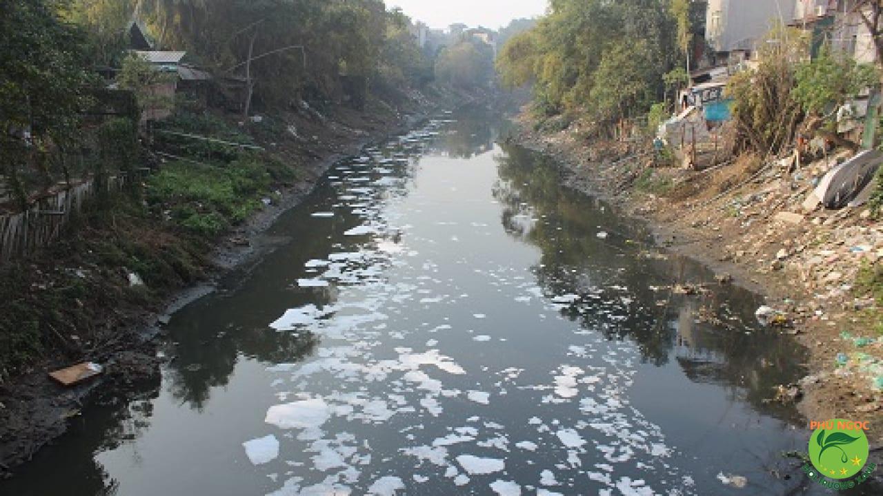 Ô nhiễm kênh rạch luôn là vấn đề nhức nhối nhiều năm nay