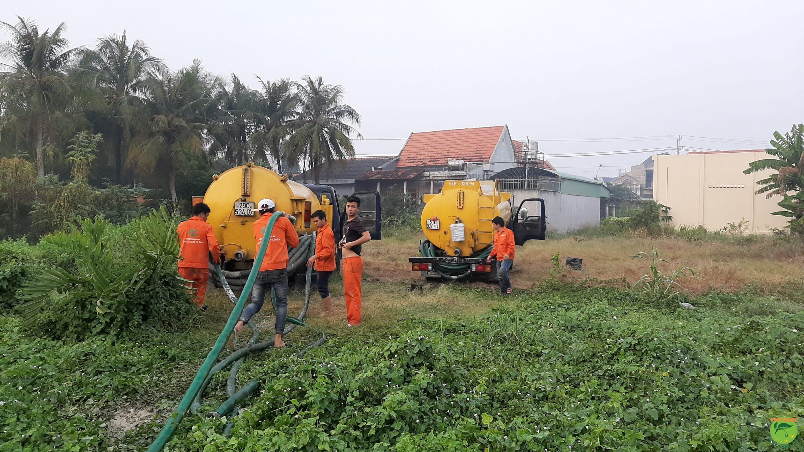 Nhật Quang là đơn vị hút bùn kênh rạch uy tín, chuyên nghiệp