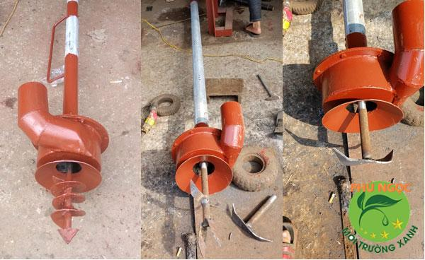 Máy hút bể biogas sử dụng động cơ xăng dầu