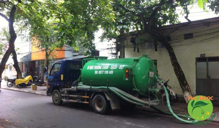 Công ty Phú Ngọc hút hầm cầu chuyên nghiệp