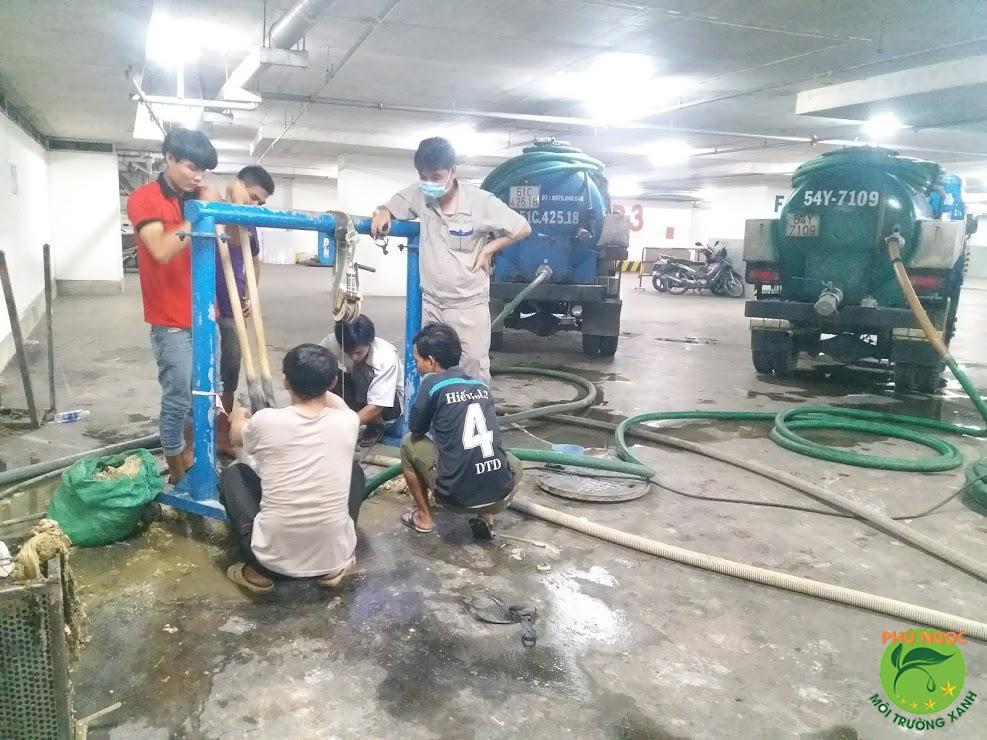 Công ty Phú Ngọc thông cống nghẹt huyện Bàu Bàng uy tín & chất lượng