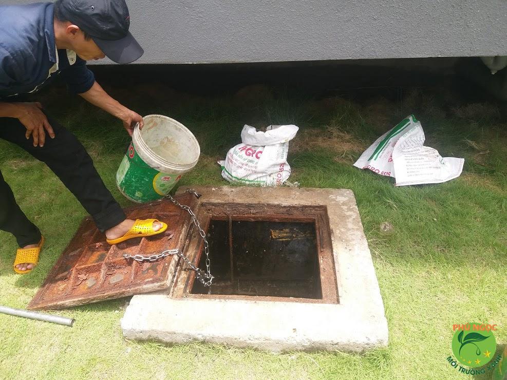 Quy trình làm việc của dịch vụ thông cống nghẹt huyện Cai Lậy