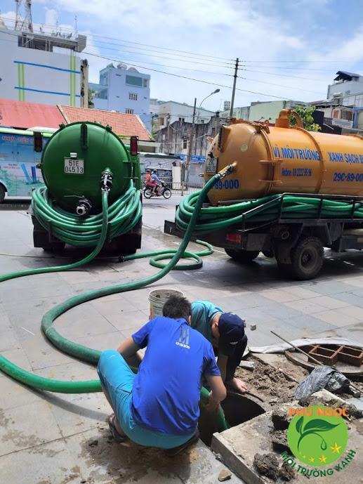 Công ty hút hầm cầu huyện Cái Bè uy tín - chất lượng