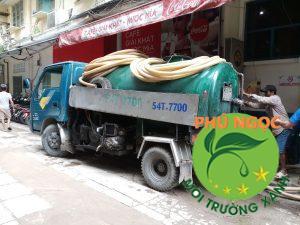 Dịch vụ hút hầm cầu của Phú Ngọc cam kết thực hiện trong ngày