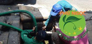 Dịch vụ hút hầm cầu phát triển tại Biên Hòa