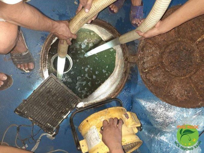 Nên hút hầm cầu thị xã Buôn Hồ định kỳ