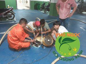 thông cống nghẹt huyện Thống Nhất