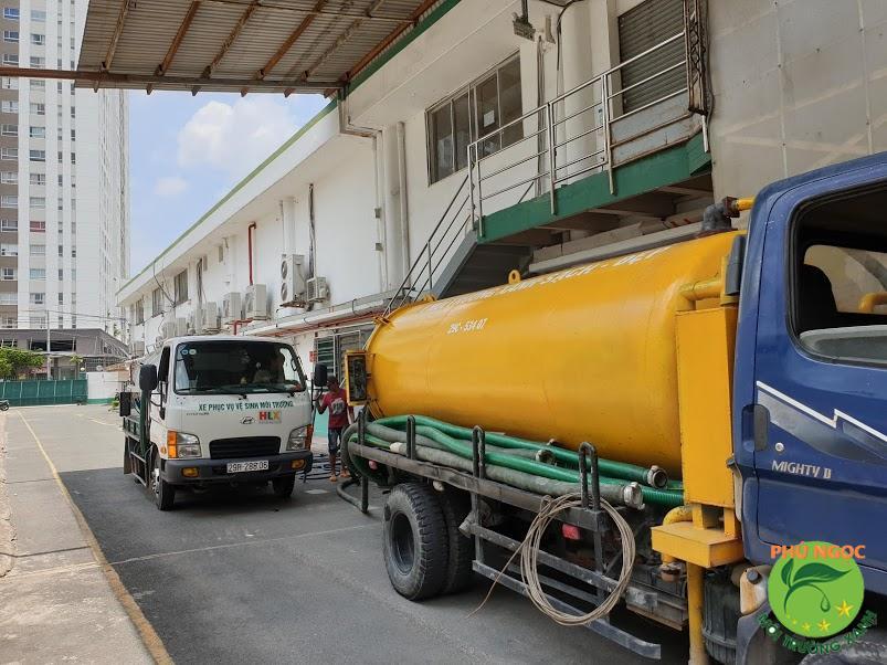 Giới thiệu đơn vị hút hầm cầu quận Bình Thủy uy tín, đảm bảo chất lượng nhất - Phú Ngọc
