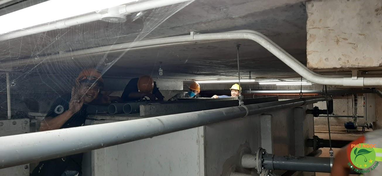 Dịch vụ hút hầm cầu của công ty Phú Ngọc