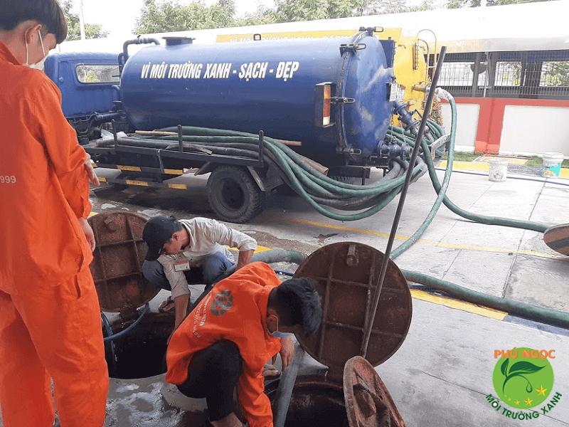 Công ty Phú Ngọc luôn mang đến dịch vụ thông cốg nghẹt chất lượng