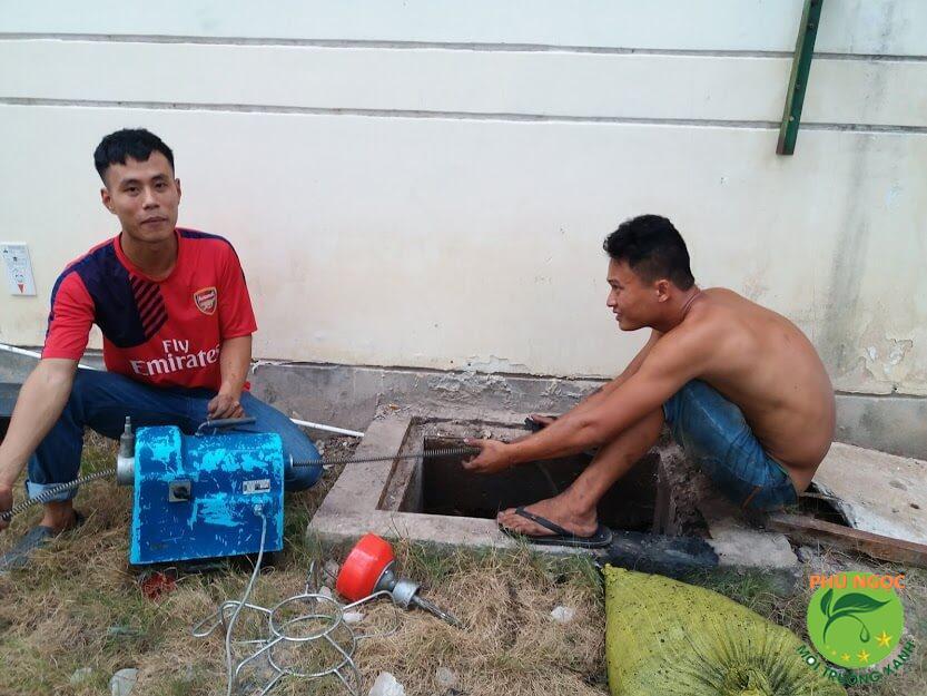 Phú Ngọc cung cấp dịch vụ thông cống nghẹt uy tín tại huyện Cờ Đỏ