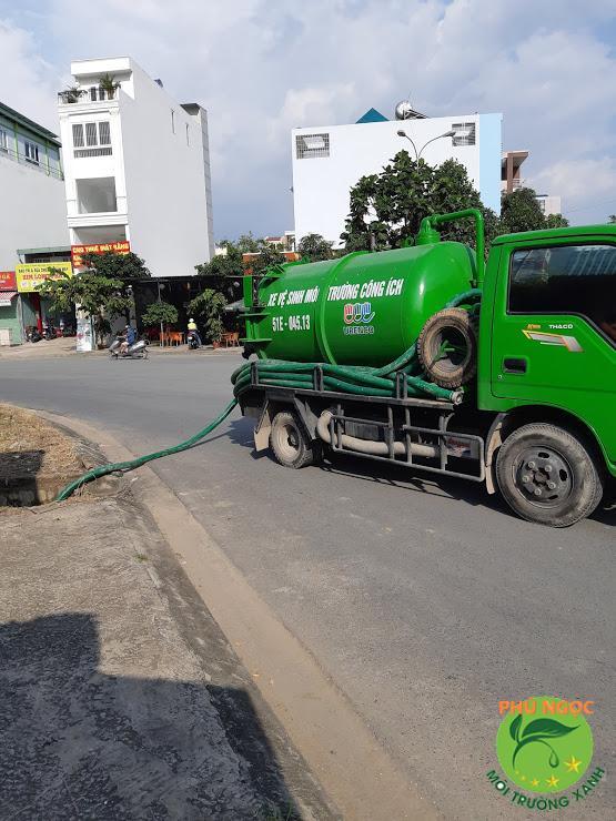 Bảng báo giá dịch vụ hút hầm cầu huyện Lấp Vó mới nhất
