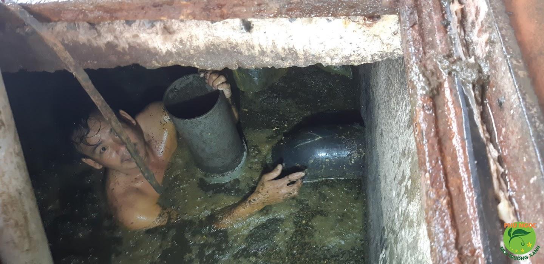 Quy trình làm việc dịch vụ hút hầm cầu huyện Dương Minh Châu