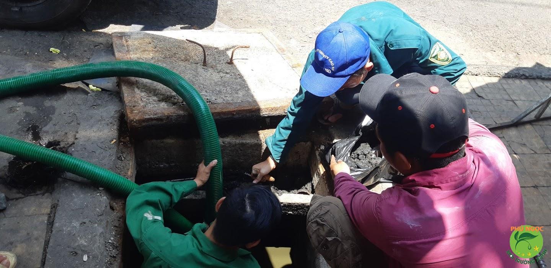 Quy trình làm việc dịch vụ thông cống nghẹt thị xã Bình Minh
