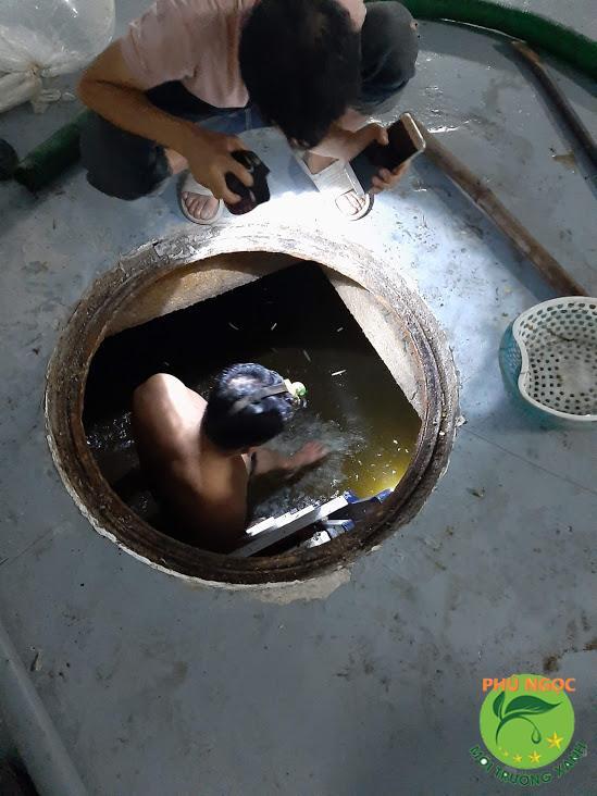Hút hầm cầu huyện Tân Châu, tỉnh Tây Ninh
