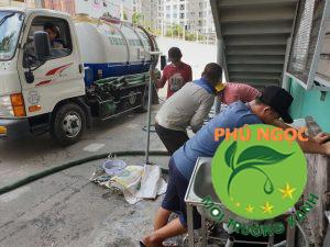 Dịch vụ hút hầm cầu tại huyện Xuân Lộc ngày càng phát triển