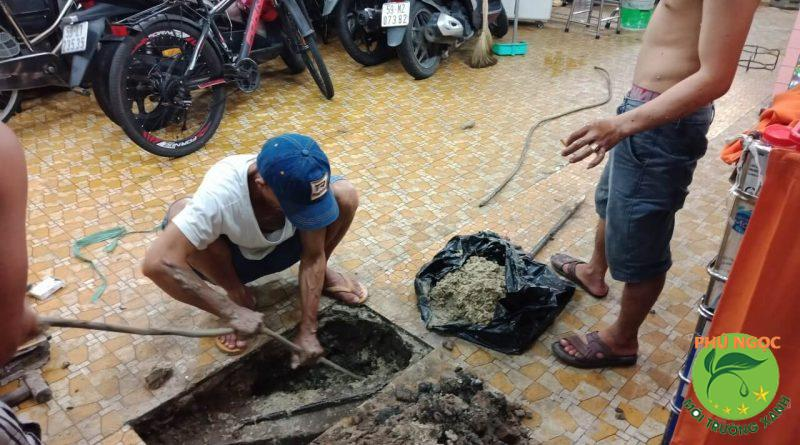 Thông cống nghẹt huyện Bình Tân, tỉnh Vĩnh Long