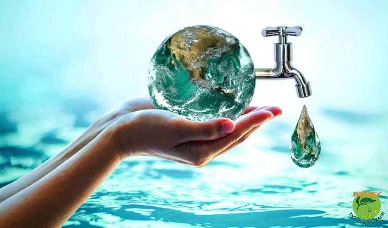 Sử dụng nước tiết kiệm giúp bảo vệ môi trường