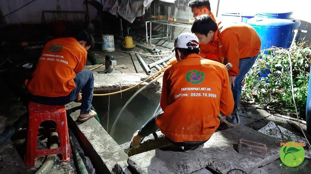 Giới thiệu dịch vụ hút hầm cầu Lệ Thủy của công ty Phú Ngọc