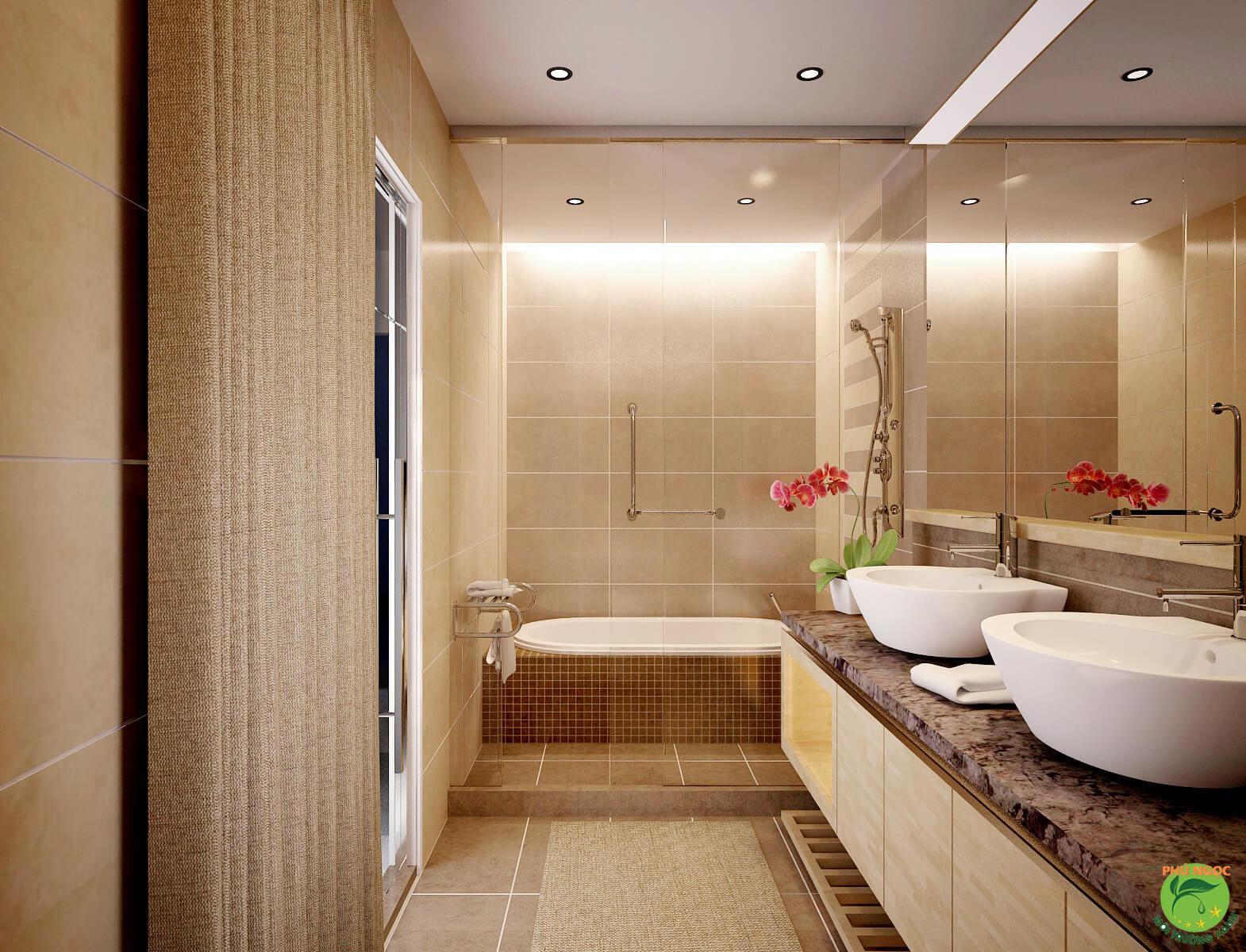 Lựa chọn chất liệu lavabo có chất liệu phù hợp làm không gian thêm sang trọng