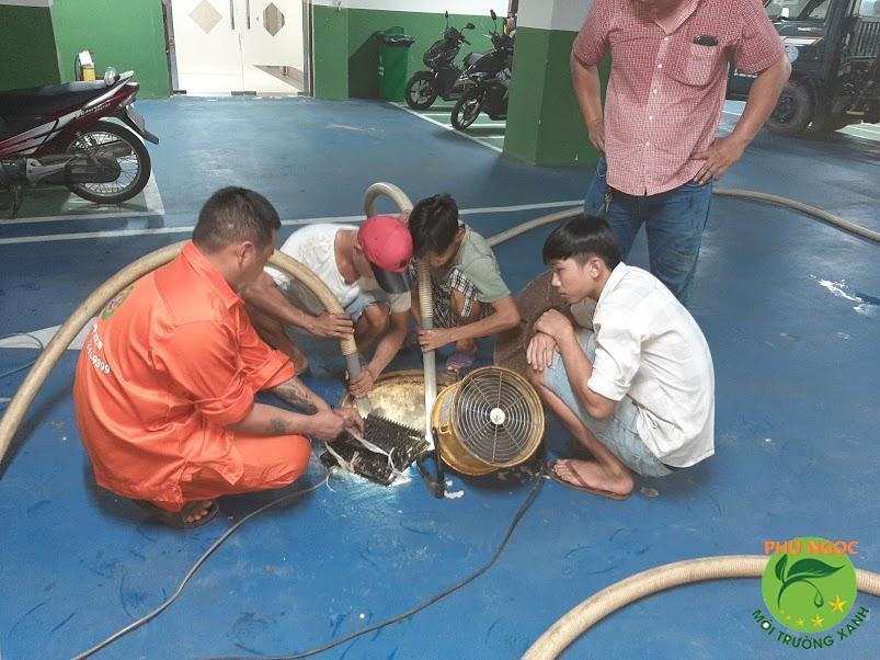 Giới thiệu dịch vụ thông cống nghẹt huyện Châu Phú