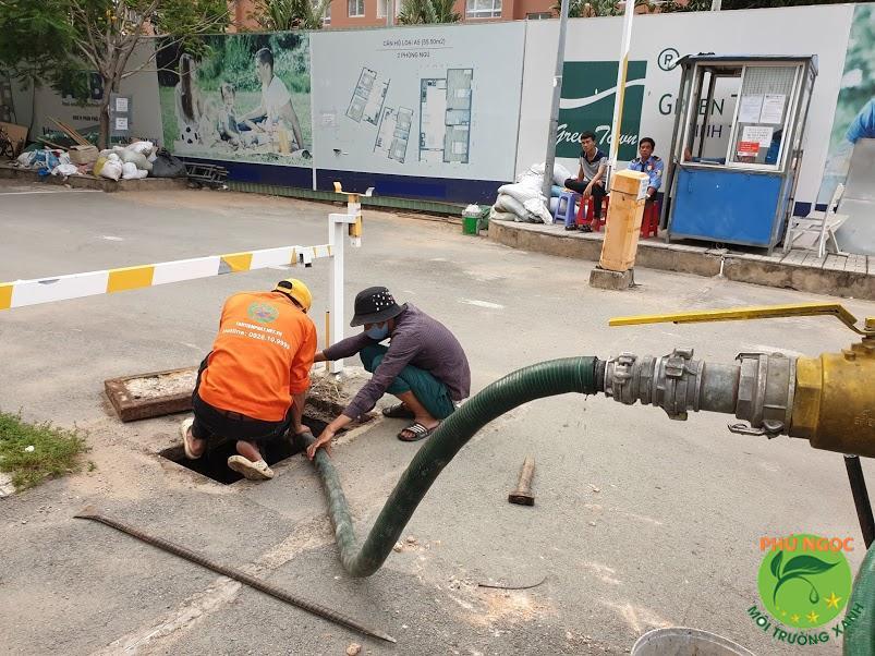 Dịch vụ thông cống nghẹt tại huyện Quảng Trạch
