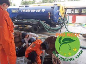 Thống cống nghet Phú Ngọc- công ty vệ sinh hàng đầu tại huyện Hòn Đất