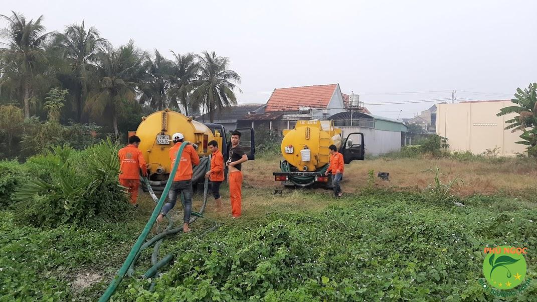 Dịch vụ thông cống nghẹt huyện Thoại Sơn của công ty Phú Ngọc