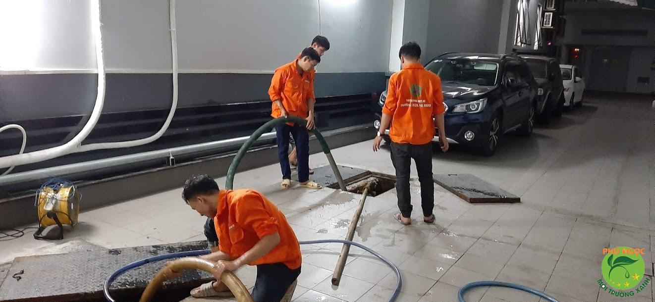 Công ty Phú Ngọc chuyên hút hầm cầu huyện Thoại Sơn uy tín, chất lượng