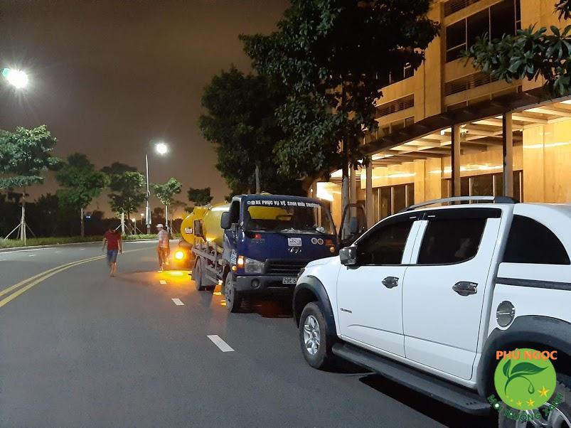 Phú Ngọc cam kết điều gì trong quá trình thực hiện thông tắc cống tại Thanh Xuân
