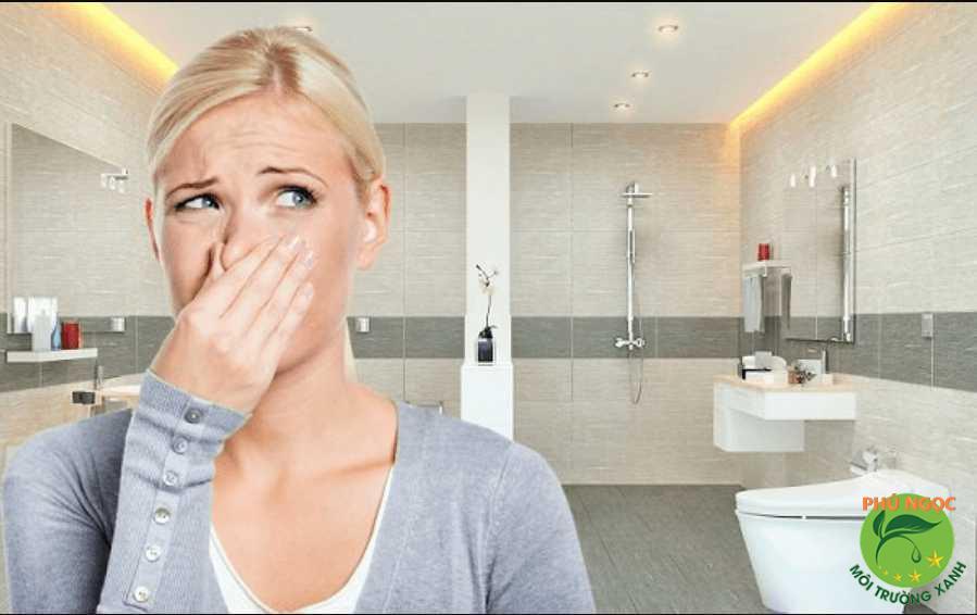 Tắc công sẽ dẫn đến những mùi hôi khó chịu gây ảnh hưởng đến cuộc sống sinh hoạt hàng ngày