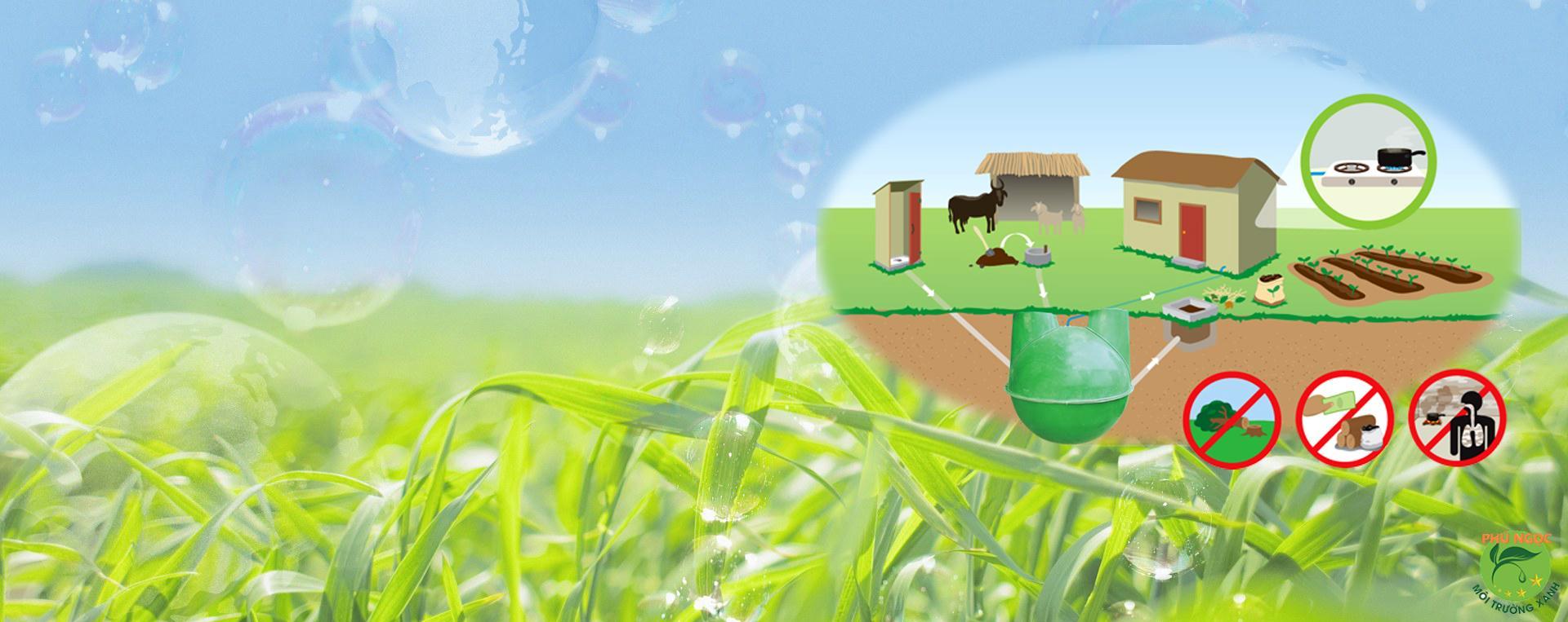 Ứng dụng của khí Biogas trong sản xuất, trồng trọt