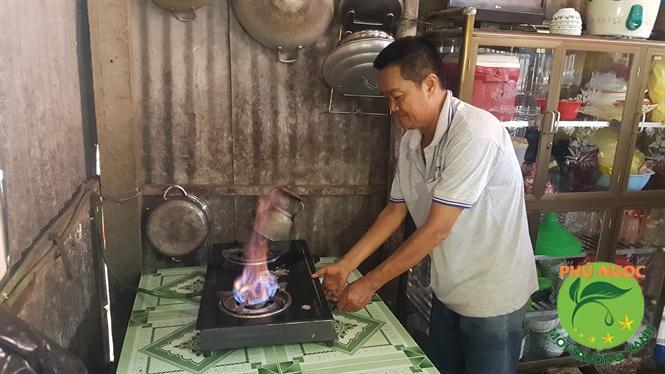 Ứng dụng của khí Biogas để tạo ra khí đốt