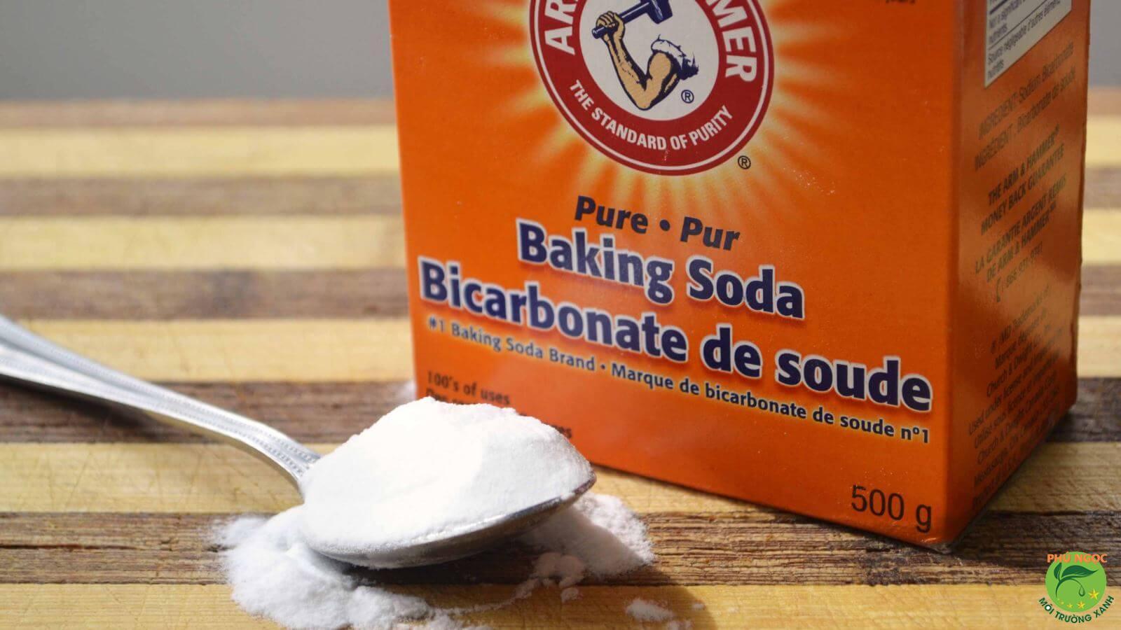 Sản phẩm baking soda trên thị trường hiện nay