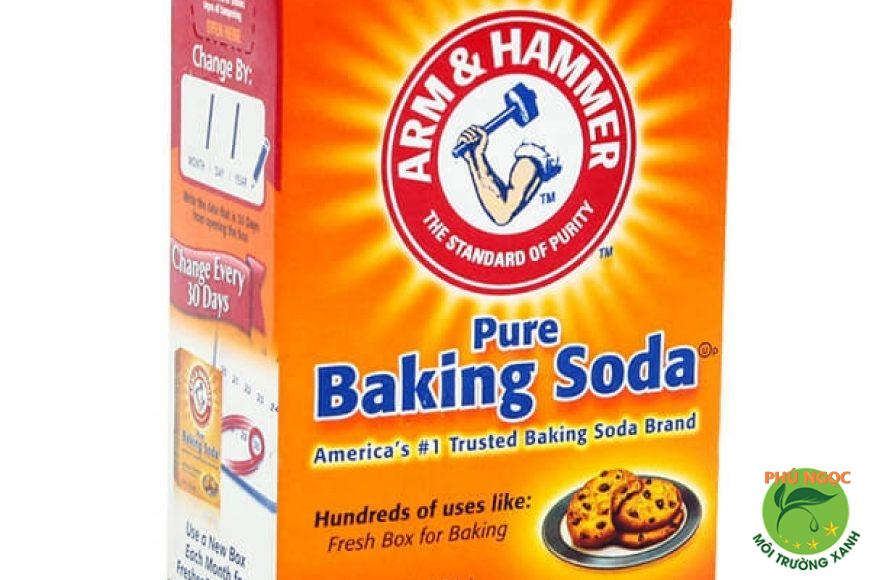 Baking soda được sử dụng rộng rãi trong cuộc sống hàng ngày