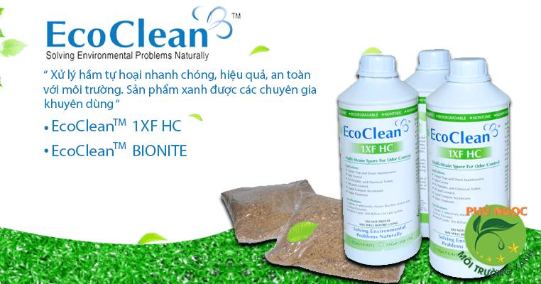 Bột khử mùi hôi cống Ecoclean