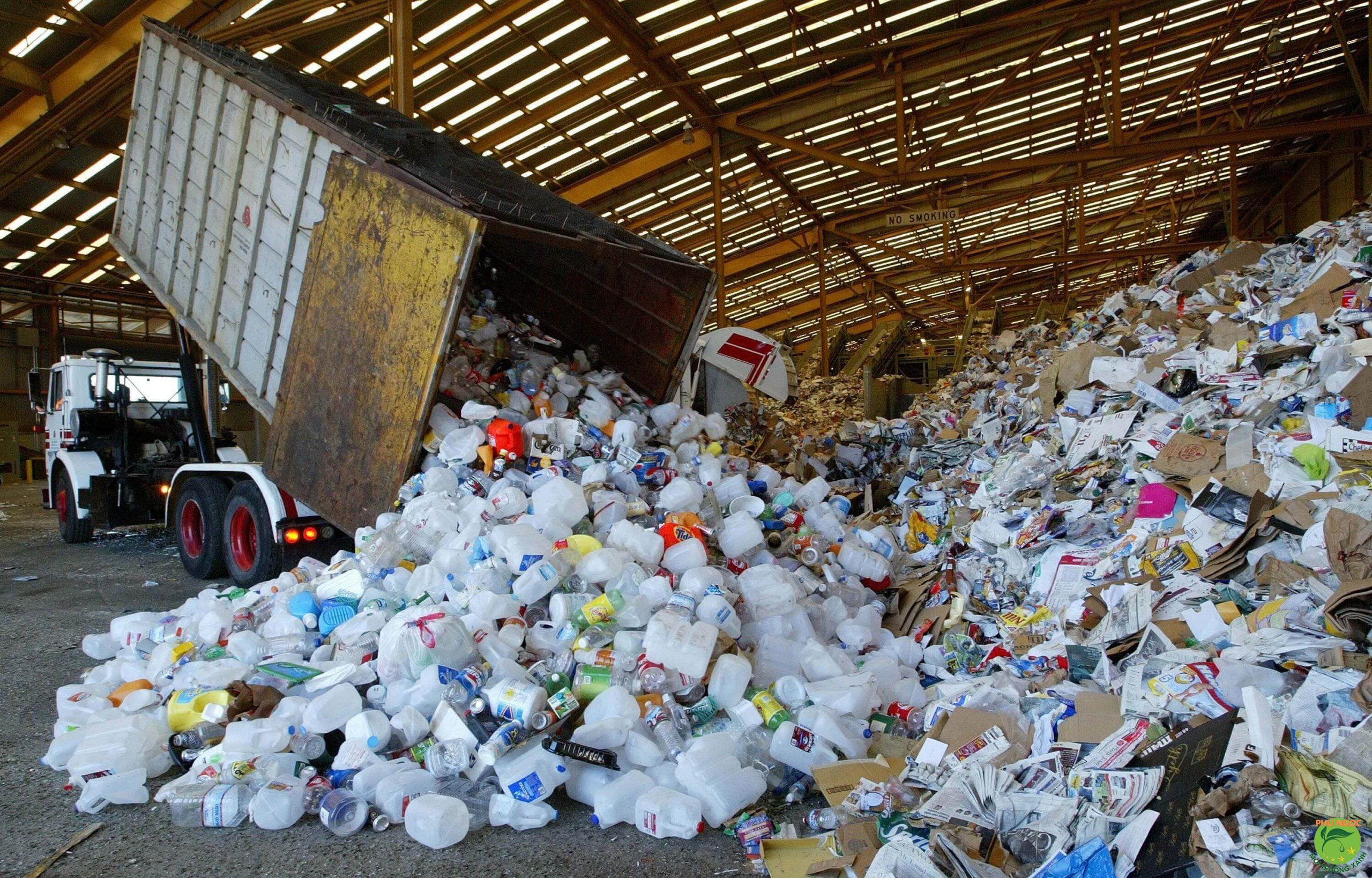Chất thải công nghiệp cần được các doanh nghiệp quan tam nhiều hơn