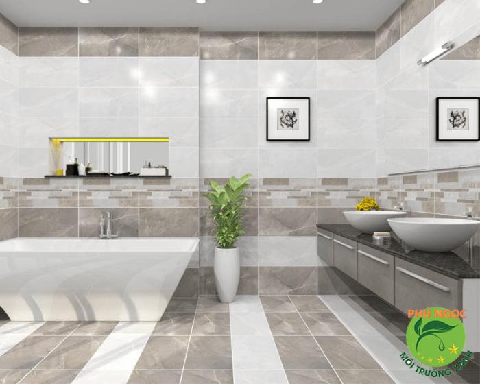 Kích thước nhà vệ sinh đúng tiêu chuẩn mang đến cảm giác thoải mái