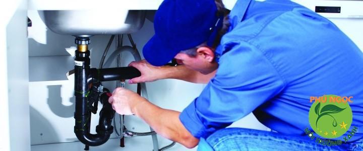 Dịch vụ sửa ống cống của công ty Phú Ngọc